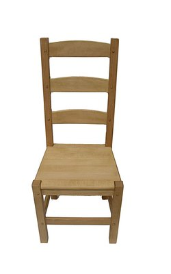 Amish solid seat chair