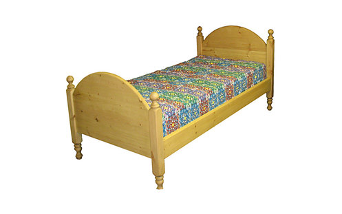 Arch bed - low foot board