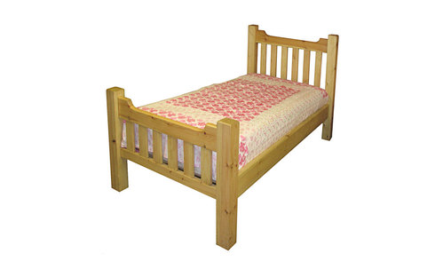 Slatted bed - low foot board