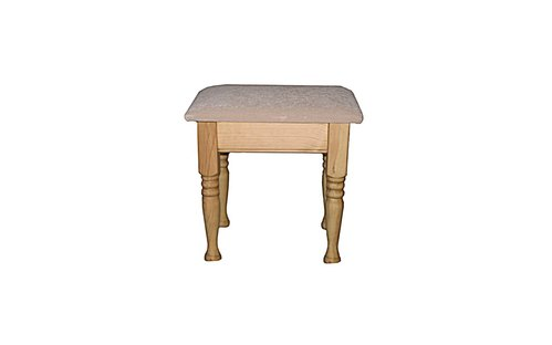 Small beige stool