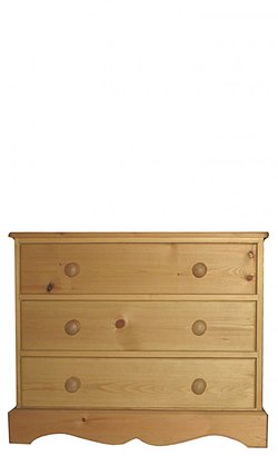 Three drawer chest .
