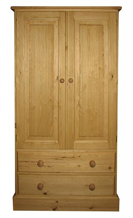 Childs wardrobe with drawers