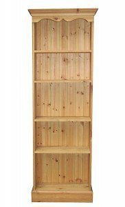 Pine Fixed Bookcases