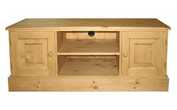 Wide screen TV stand 2 doors