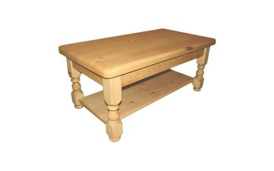 107cm x 58cm Coffee table without shelf