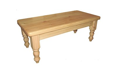 122cm x 58cm Coffee table without shelf