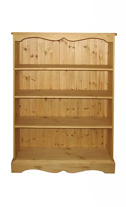 Fixed shelf bookcase