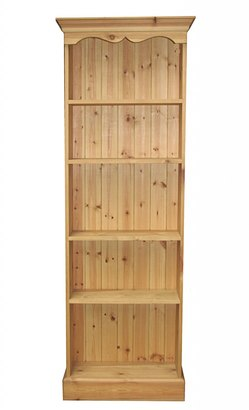 full height fixed shelf bookcase