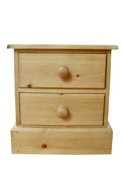 Bedside 2 drawer S