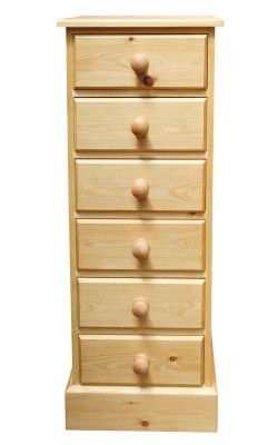 Bedside 6 drawer S