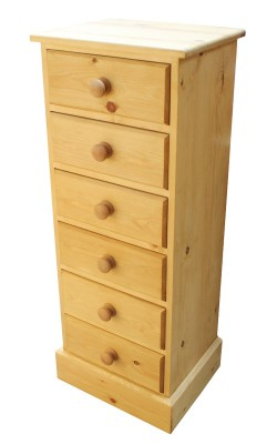 Bedside 6 drawer Straight
