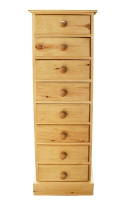 Bedside 8 drawer S