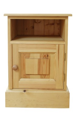 Bedside cupboard open top S