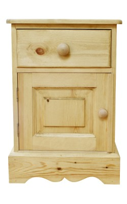 Bedside door and drawer W