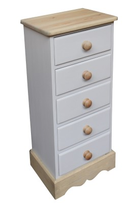 5 drawer bedside