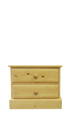 Baby chest 2 drawer straight
