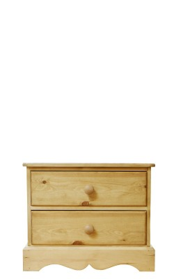 Baby chest 2 drawer wavy