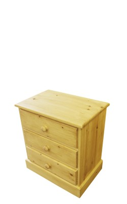 Baby chest 3 drawer straight 2