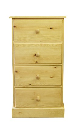 Baby chest 4 deep drawer wavy