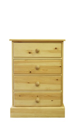 Baby chest 4 drawer straight