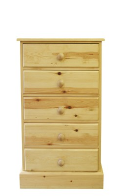 Baby chest 5 drawer straight
