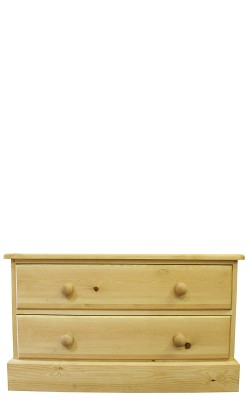 Chest 2 drawer straight