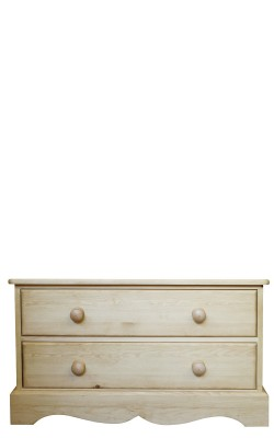 Chest 2 drawer wavy