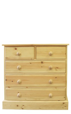 Chest 2 over 3 drawer straight