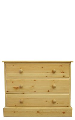 Chest 3 drawer straight
