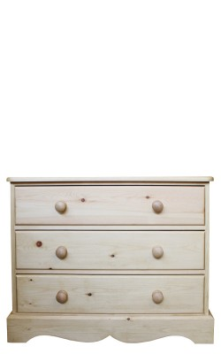 Chest 3 drawer wavy