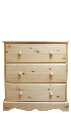 Chest 3 jumper drawer straight