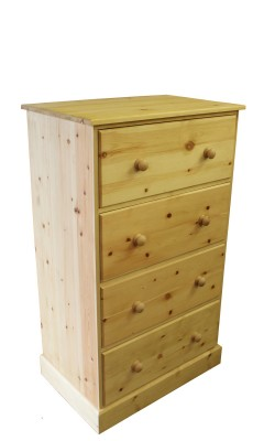 Chest 4 drawer Boston straight 1