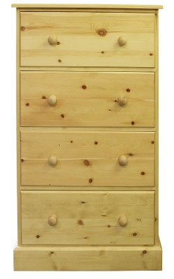 Chest 4 drawer Boston straight