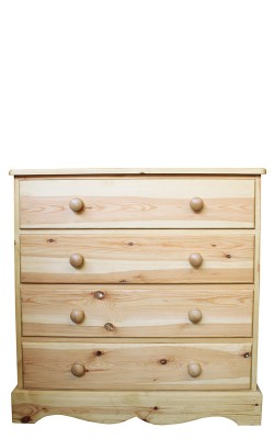 Chest 4 drawer wavy