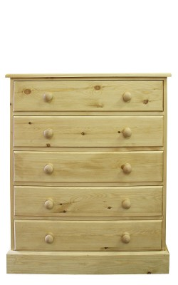 Chest 5 drawer straight