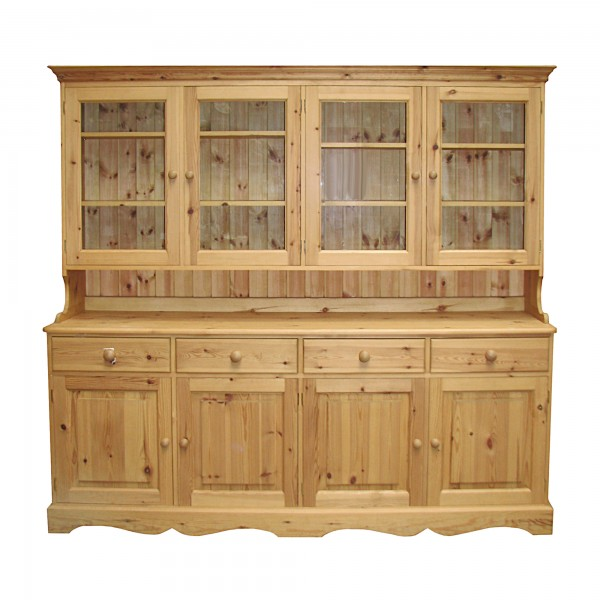 Glazed Dresser 4 door