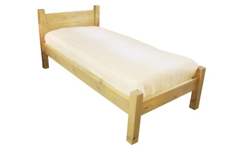 Rustic single bed wp